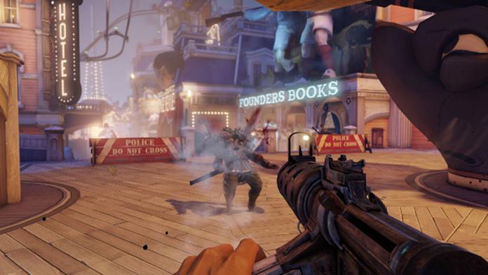 Bioshock infinite combat
