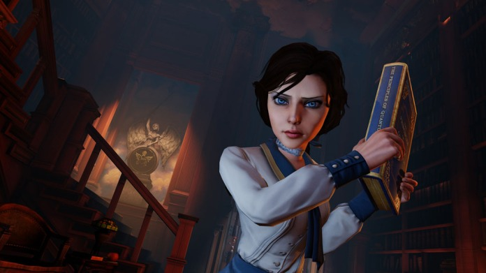 Bioshock infinite Elizabeth book meeting