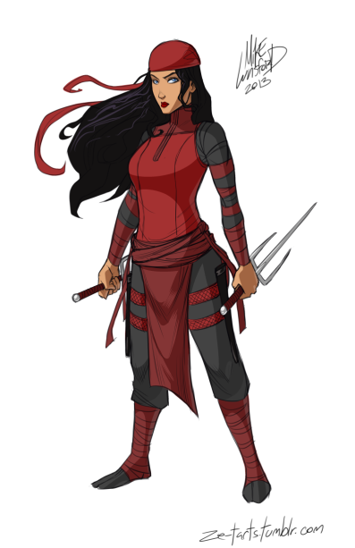Michael Lee Lunsford Elektra redesign