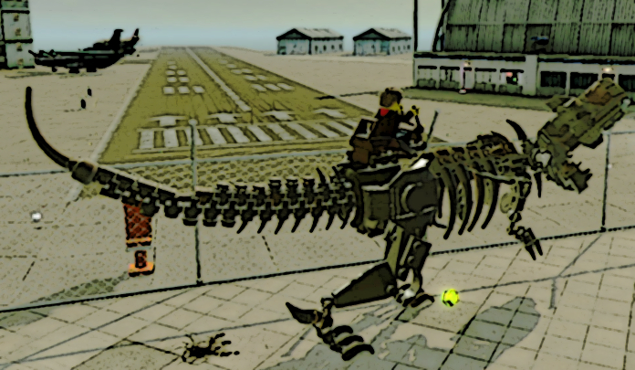 Lego city undercover dinosaur robot