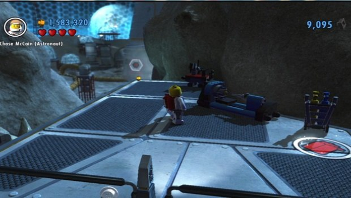 Lego city undercover space