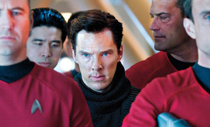 Star Trek Into Darkness Harrison captured