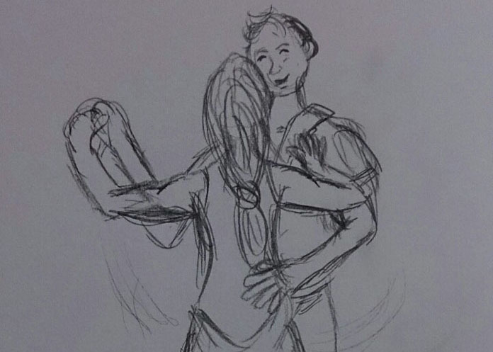 people dancing sketch v2