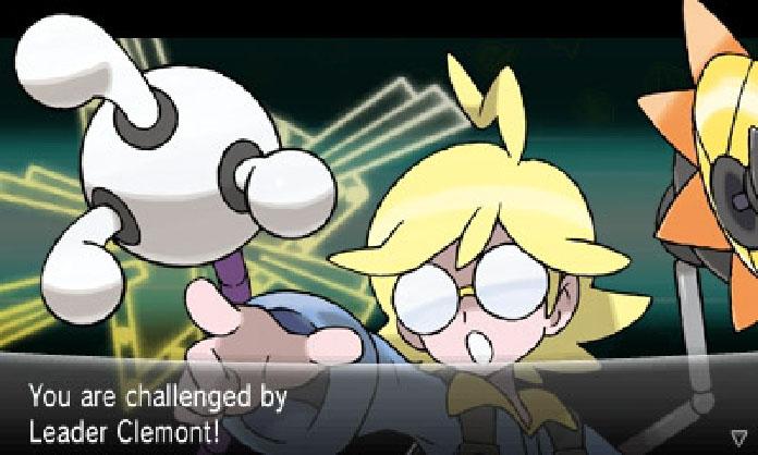 Pokemon X screen 2